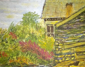 Cottage in Keswick, Pastel