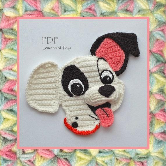057 Crochet Pattern. Crochet 3D applique. Amigurumi pattern | Etsy