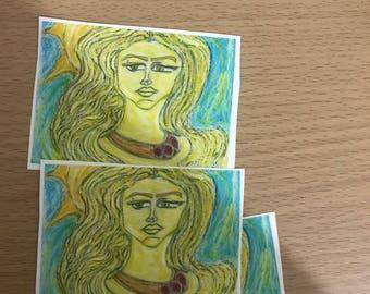 Freya Vanadis wallet card