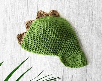 Toddler Newsboy Cap | Dinosaur Boy Hat | Baby Shower Gift | Handmade Knit Hat  |  NOTON by Raquel for KIDS