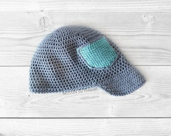Baby Newsboy Cap  |  Toddler Spring Cap Hat  |  Baby Shower Gift  |  Handmade Knit Hat  |  NOTON by Raquel for KIDS