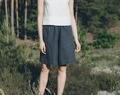 Hike short / Linen shorts / High waisted linen shorts / Summer shorts / Minimal linen shorts