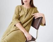 Elena dress - Button down dress - Long linen dress - Maxi linen dress - Soft linen dress