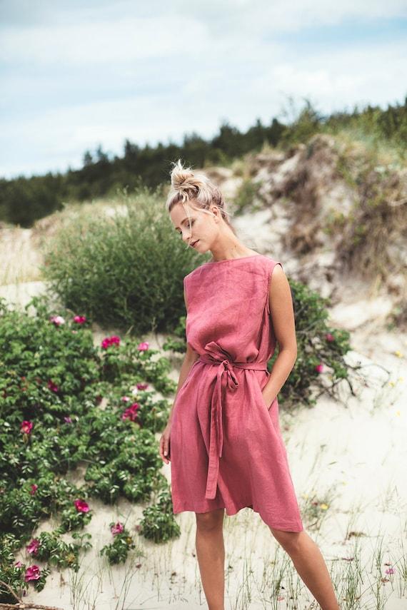 Linen Summer Dress by LinenFox