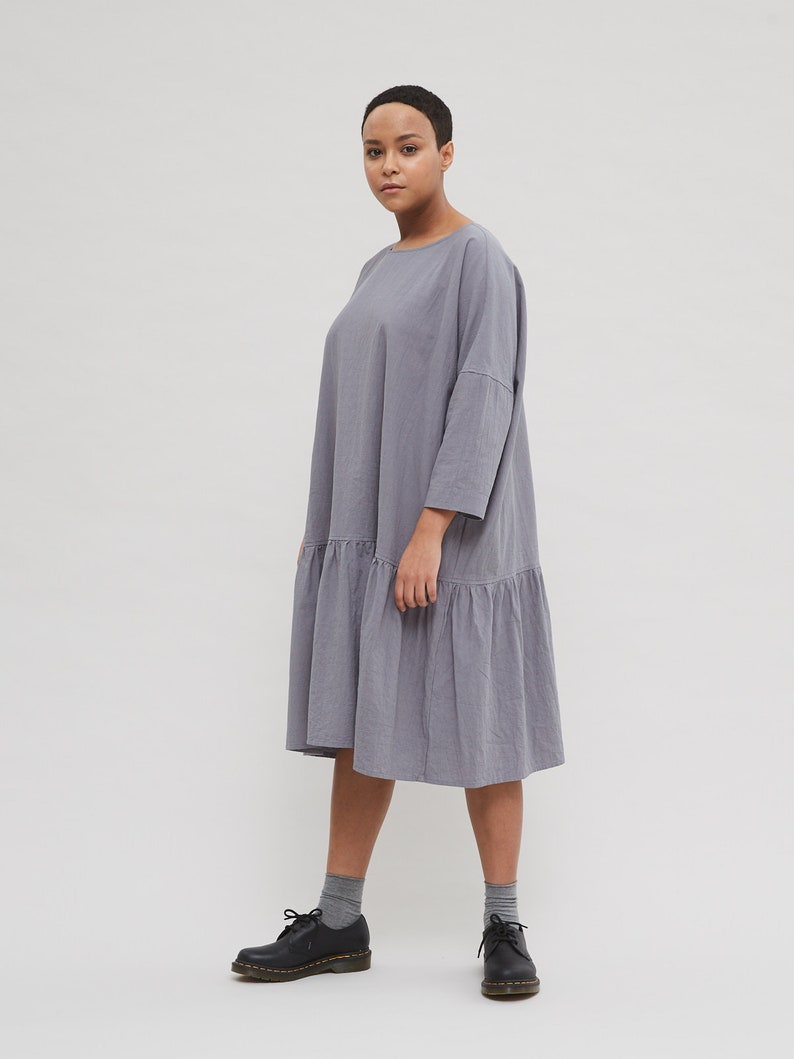 17ec642911 Washed cotton dress/ Loose dress/ Oversized dress/ Minimal dress / Maxi  dress/ Summer dress/ Dress/ Beach dress