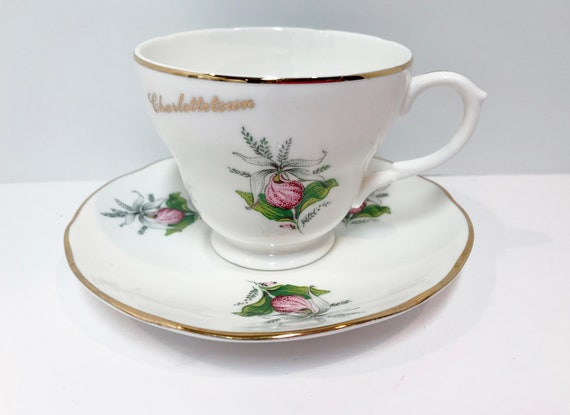 Charlottetown PEI, Canadian Teacups, Canada Cups, Antique Tea Cups Vintage,  Antique Teacups Vintage, Anne of Green Gables