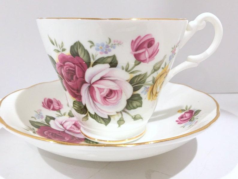 Pranzo Nuziale In Inglese : Royal stuart tè tazza e piattino tazze di porcellana inglese etsy