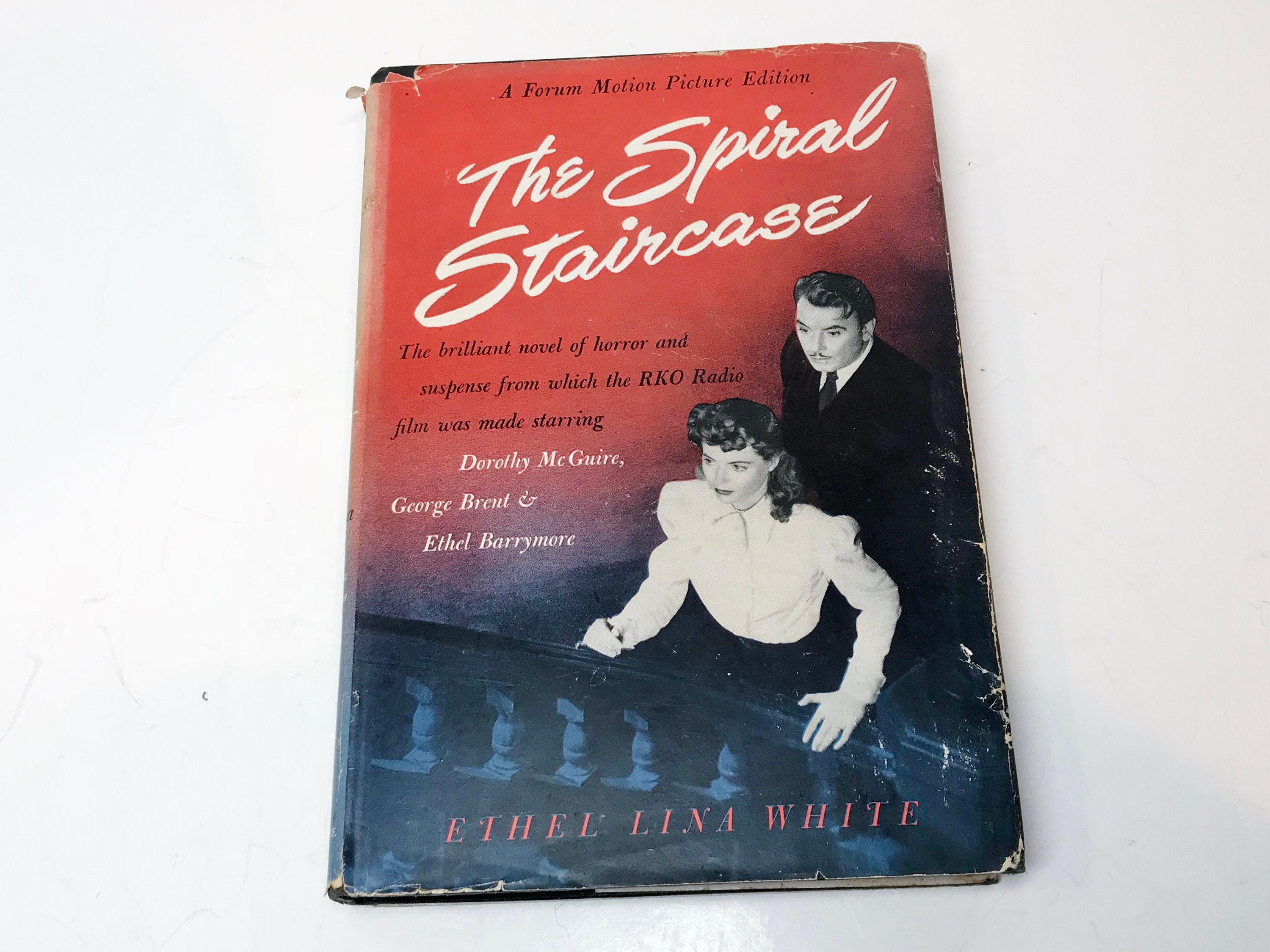 The Spiral Staircase By Ethel Lina White 1946 Thriller Book Into