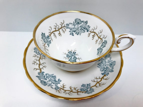Elegant Tuscan Tea Cup and Saucer, Antique Tea Cups, English Bone China Cups, Vintage Tea Cups, English Teacups, Elegant China Cups