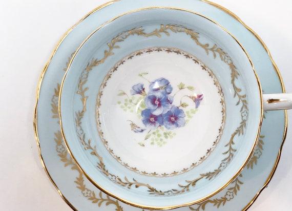 Westbrook Teacup and Saucer, Floral Teacups,  Bone China Tea Cups Vintage, Antique Teacups, English Teacup, Teatime Teacups, Vintage Teacups