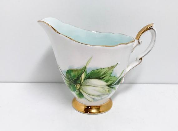 Paragon Creamer, Harry Wheatcroft Rose Series, Virgo Pattern, Rose Pitcher, Paragon Pitcher, Vintage Tea Cups, Antique Tea Cups