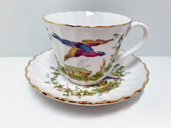Chelsea Bird by Spode, Spode Bird Teacup,  Spode Teacups, Pheasant Tea Cups, Antique Teacups Vintage, Discontinued Teacups, Replacement Cup