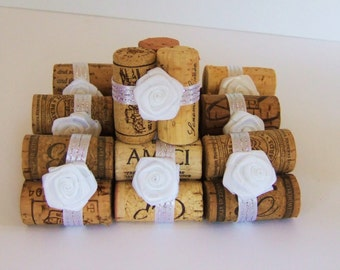 Wedding Wine Cork Place Card Holders, Rustic Wedding, Vineyard Wedding, Wine Cork Place Card Holder, Name Card Holder