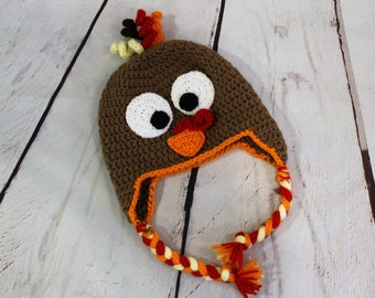 06fd6e28075 Baby turkey hat