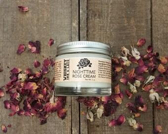 Nighttime Rose Cream - sensitive skin cream, anti-aging cream, night cream, gift for mom, mother's day gift, gift for her