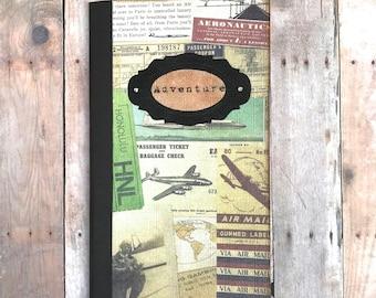 Travel Journal, Pocket Notebook, Journey Journal, Travel Pocketbook, Journal Insert