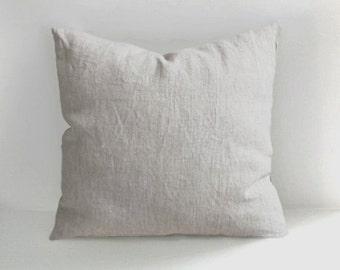 SALE!!! Linen Pillow Covers , Linen Throw Pillows, Handmade Linen Cushions , Cushion Covers, 18x18 20x20 26x26, Linen Throw Pillows cushions