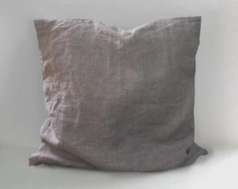 SALE!! Earth tone Linen Pillow Covers , Linen Throw Pillow, Handmade  Cushion decor , Cushion Covers, 18x18 20x20 26x26, Linen Throw cushion