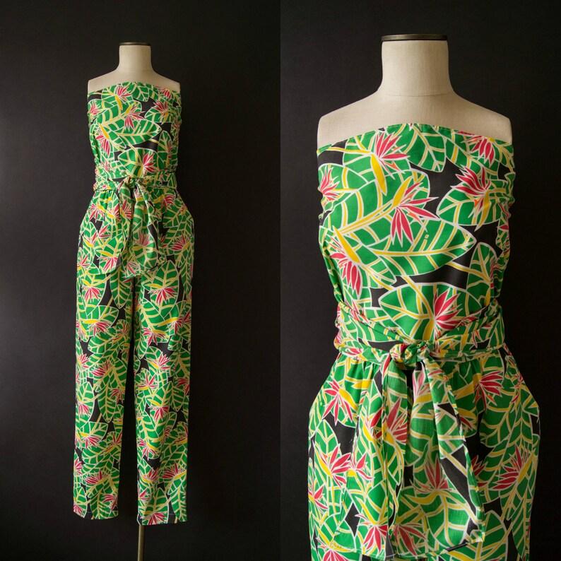 904a02133b7d Vintage 1970s jumpsuit   70s Lilly Pulitzer wrap jumpsuit
