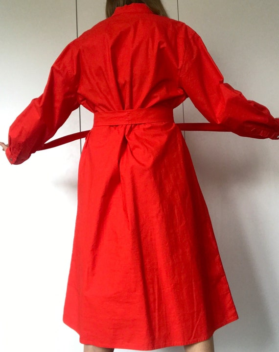 VUOKKO FINLAND Vintage Tent dress with snap closi… - image 5