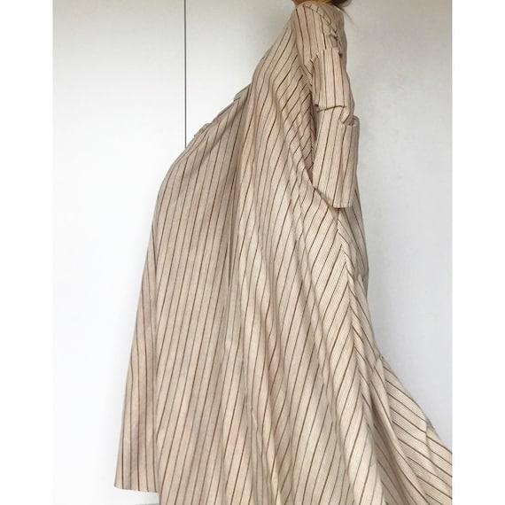 VUOKKO 60s UNWORN/Dead Stock Tent  dress with bea… - image 7