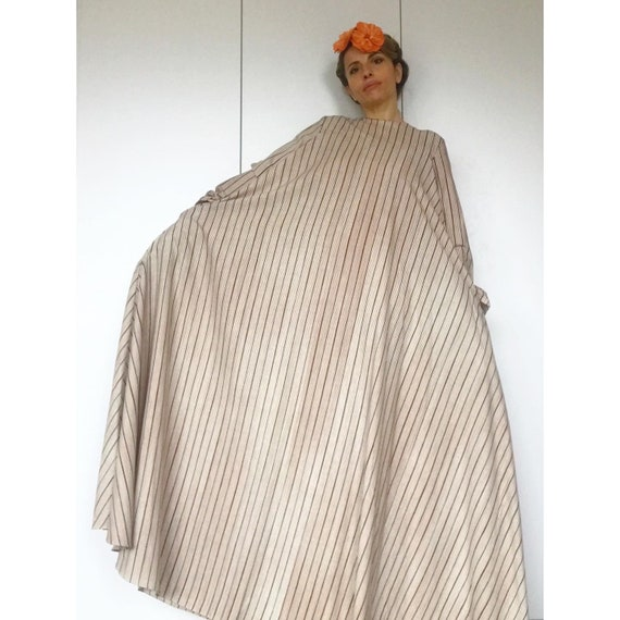 VUOKKO 60s UNWORN/Dead Stock Tent  dress with bea… - image 6