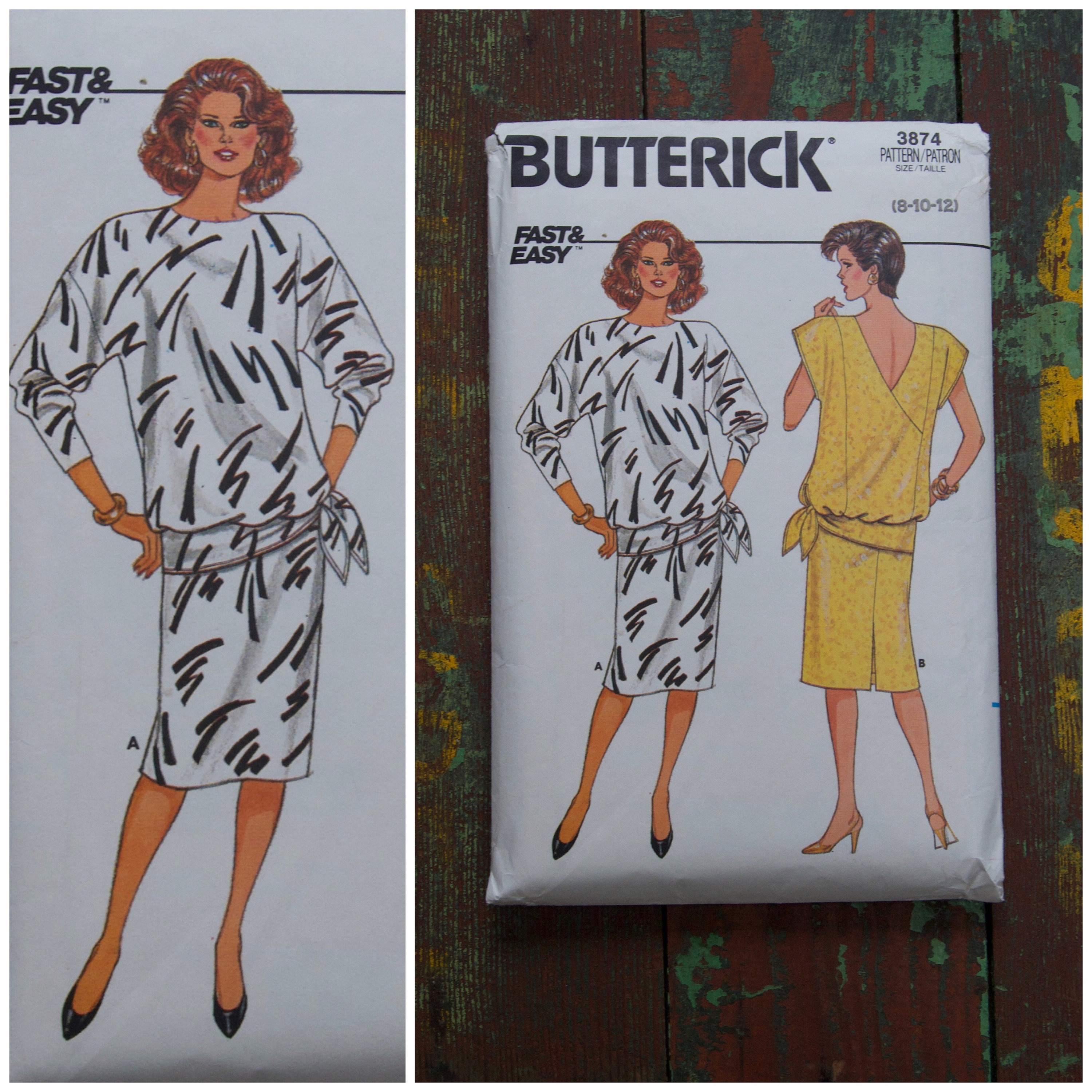 f99f40e10a7 Butterick Vintage Dress Patterns Uk - Gomes Weine AG