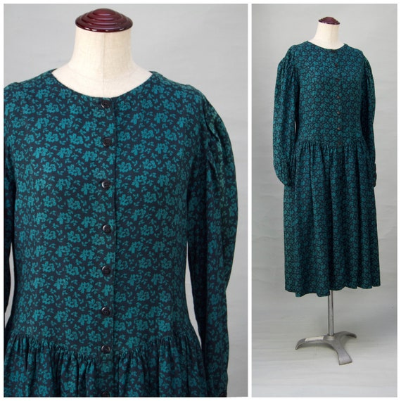 Vintage dress, 1970's / 80's Phool dress, Made in
