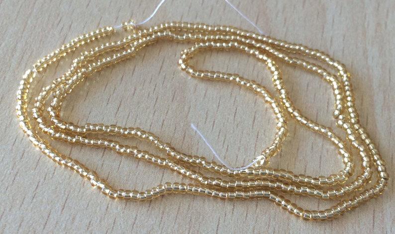pretty Pearl Gold 12/0 small amount image 0