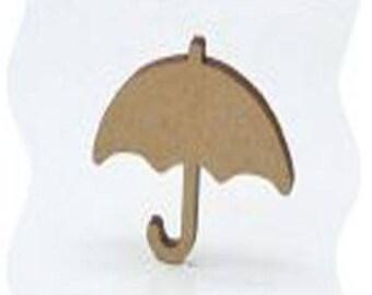 umbrella or parasol made of poplar wood