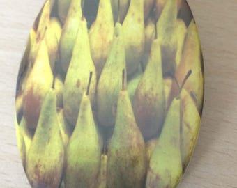 """magnets / Fridge Magnet: """"Pears"""""""
