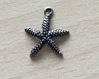 Starfish the charms in silver