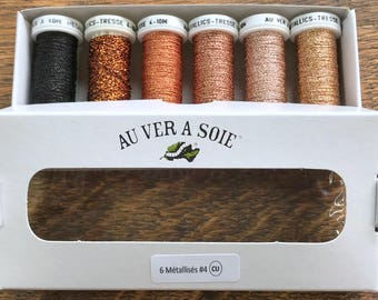 copper metallic threads discovery Pack