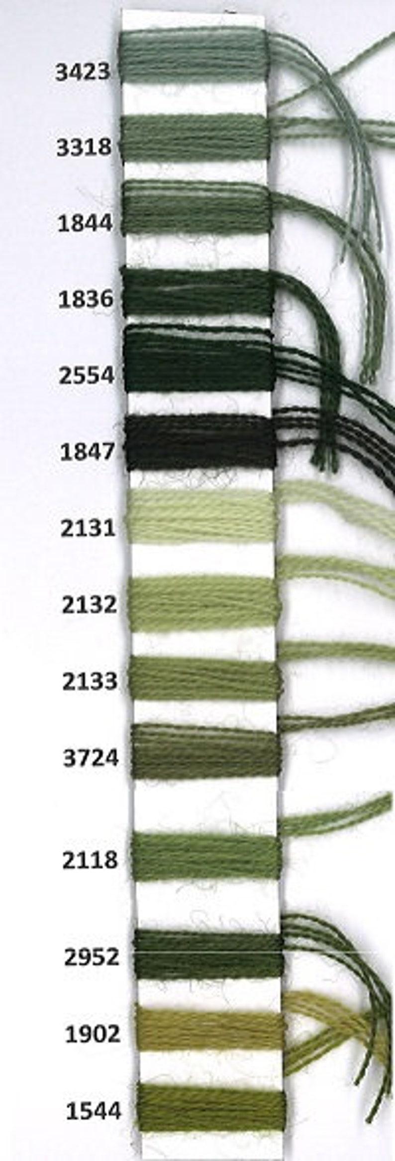 Aubusson 3318 pebble green fine wool