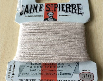 Normal St. Pierre 310 beige wool yarn