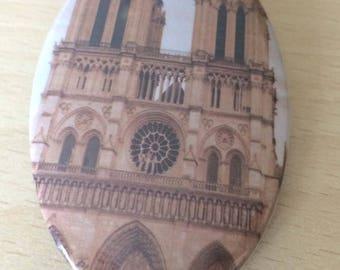 """magnets / Fridge Magnet: """"Notre Dame"""""""