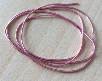 Purl metallic bright pink spring