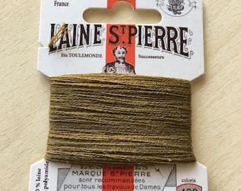 St. Pierre 488 khaki wool yarn