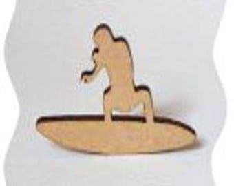 little surfer Riviera in poplar wood