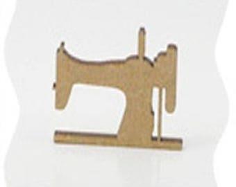 small poplar wood sewing machine