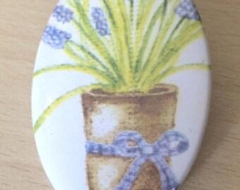 """magnets / Fridge Magnet: """"lavender"""""""
