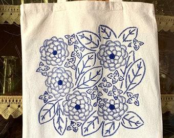"Complete blue ""flower mishmash"" kit"
