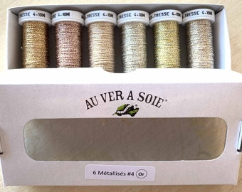 pack discovered gold metallic wires. Christmas special