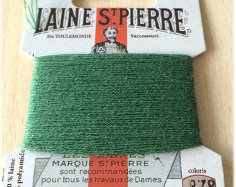 Wool yarn St. Pierre 878 forest