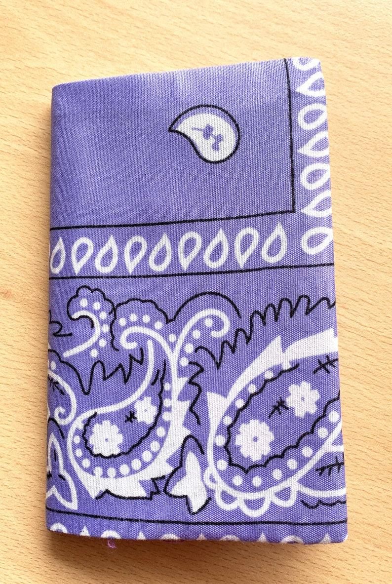 purple bandana notebook image 0