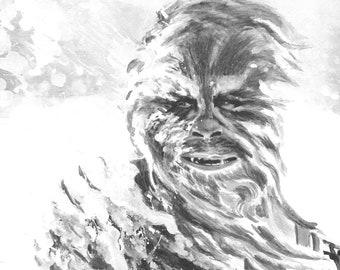 Chewbacca 11X17 Art Print