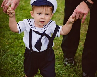 cf8077953 Baby sailor outfit