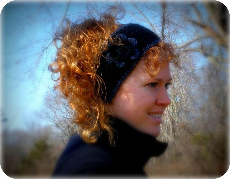 Crochet Headband Crochet Ear Warmer Ear Warmer with Button Ear Warmer Ear Warmer Headband