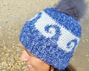 Crochet PATTERN - Autumn Waves