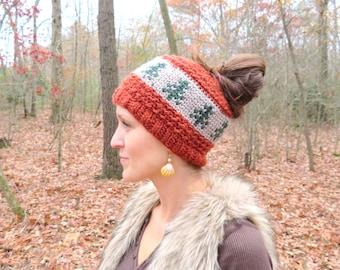 Crochet PATTERN - Rippled Timberline
